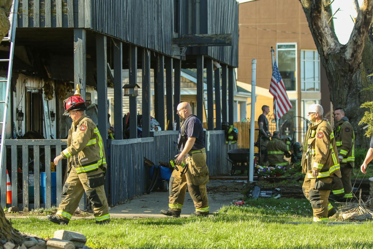 Fire caused extensive damage to Crown Point building