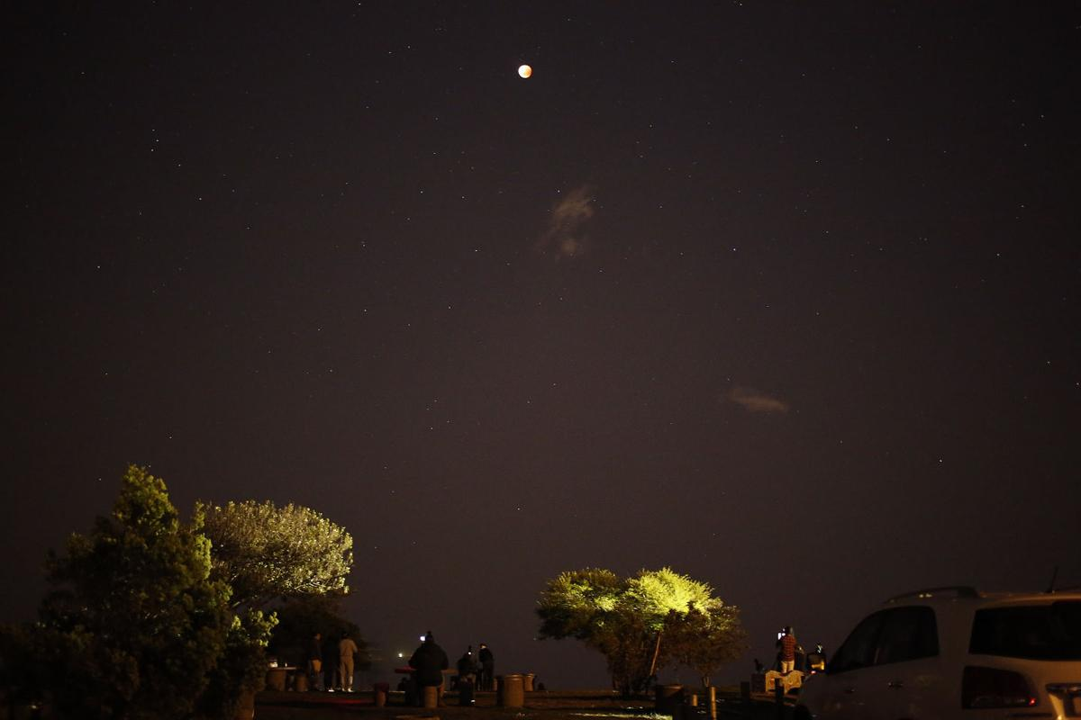 South Africa Supermoon Eclipse
