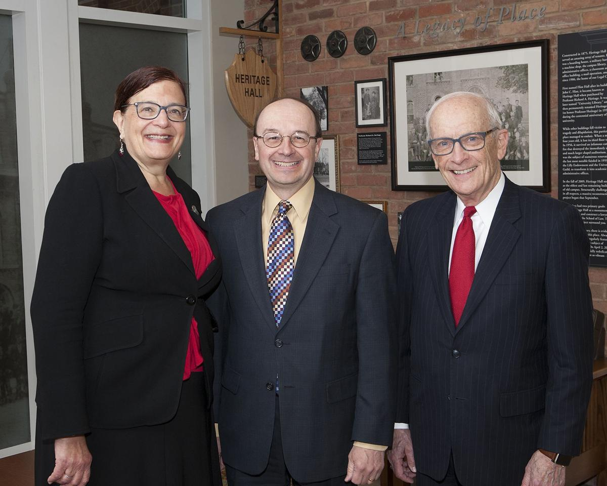 Law firm donates to Gromley Scholarship Fund at VU Law School
