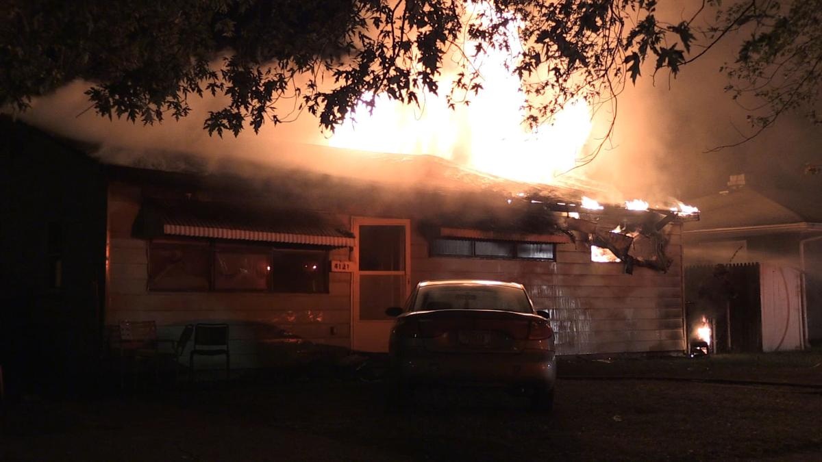 Suspicious Fire at earlier scene of Police Shootout
