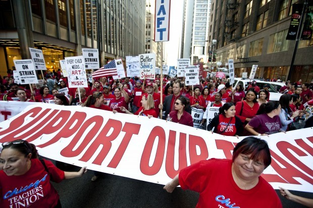 Issues in Chicago teachers' strike mirror concerns of some NWI educators