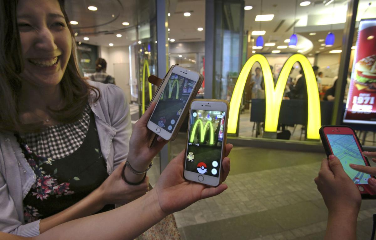 Japan Pokemon Go McDonalds