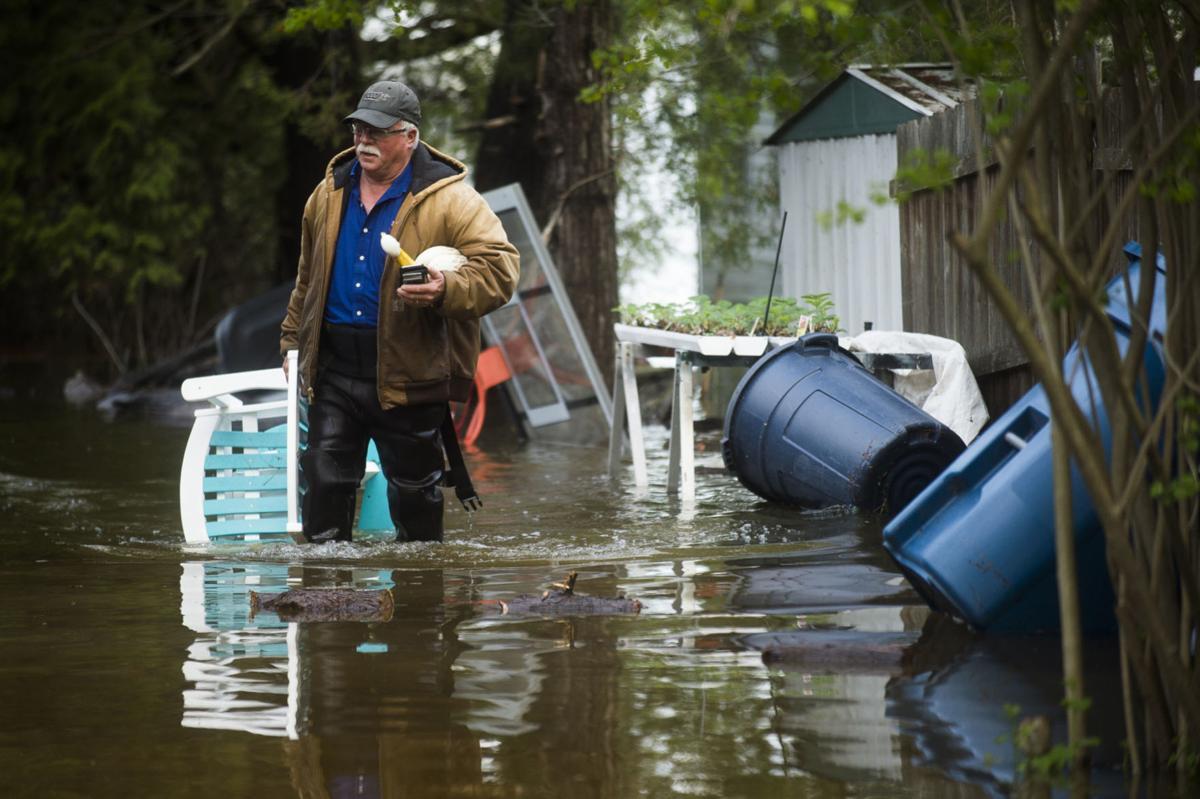 APTOPIX Midwest Flooding