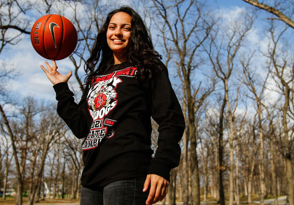 Jessica Carrothers, girls basketball player of the year
