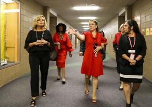Indiana schools chief outlines legislative priorities ahead of statewide Red for Ed rally