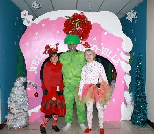 whoville at crisman school portage news