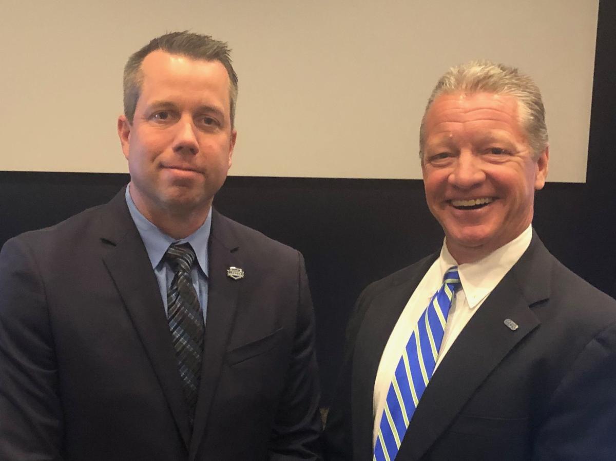 Commissioners Tom Daeger, Jim Naumovich