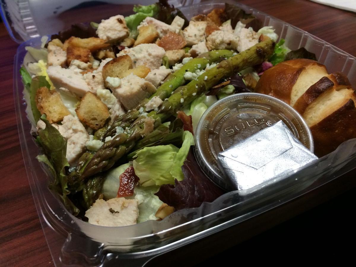 TASTE TEST: The Grilled Asparagus Salad is in season at Foodie's