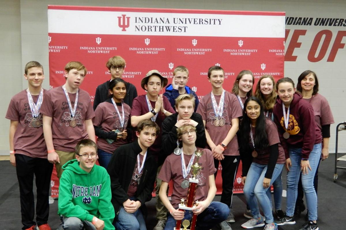 CMS Science Olympiad team qualifies for state