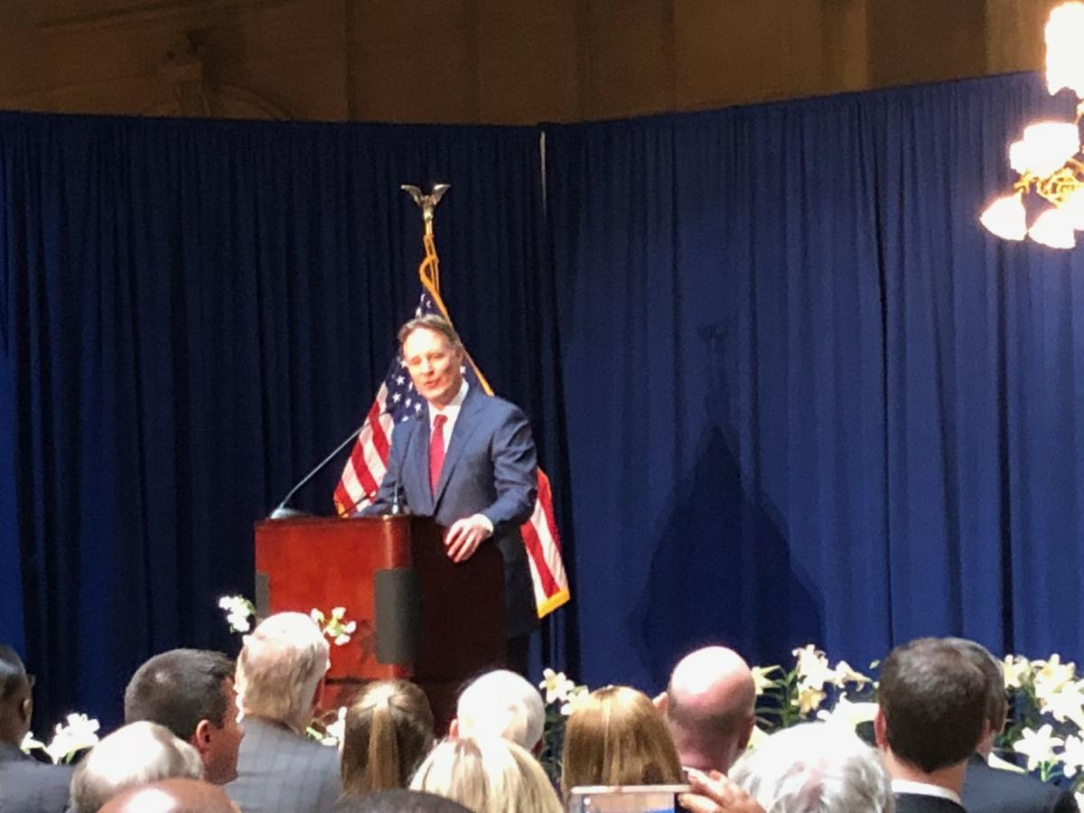 Life and accomplishments of U.S. Sen. Birch Bayh remembered at Statehouse ceremony