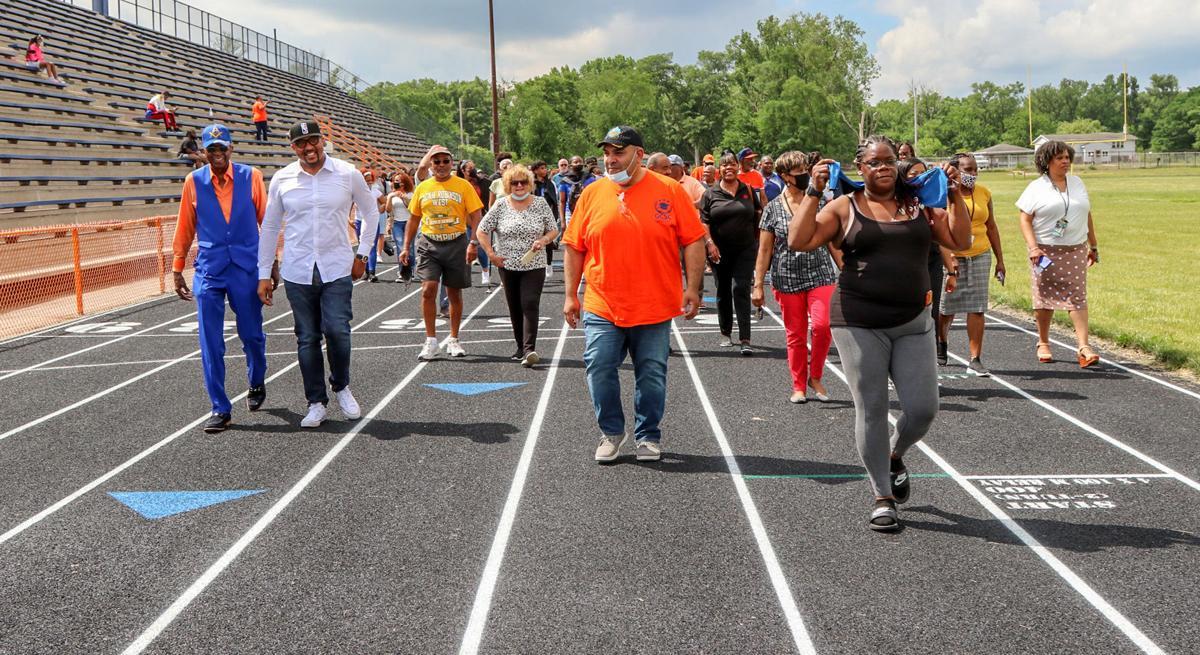West Side dedicates Refurbushed Track
