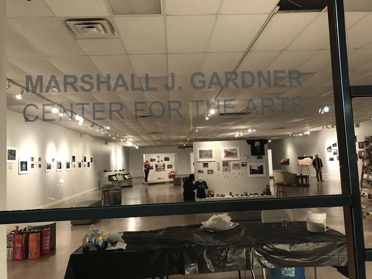 Paint It Black exhibit closes this weekend at Miller gallery