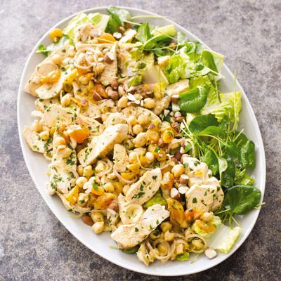 For a creative chicken salad, get inspiration from Morocco | Food
