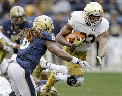No. 6 Notre Dame run game keeps going despite injuries
