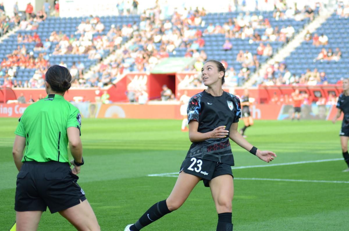 Andrew grad making mark in pro soccer with Chicago Red Stars