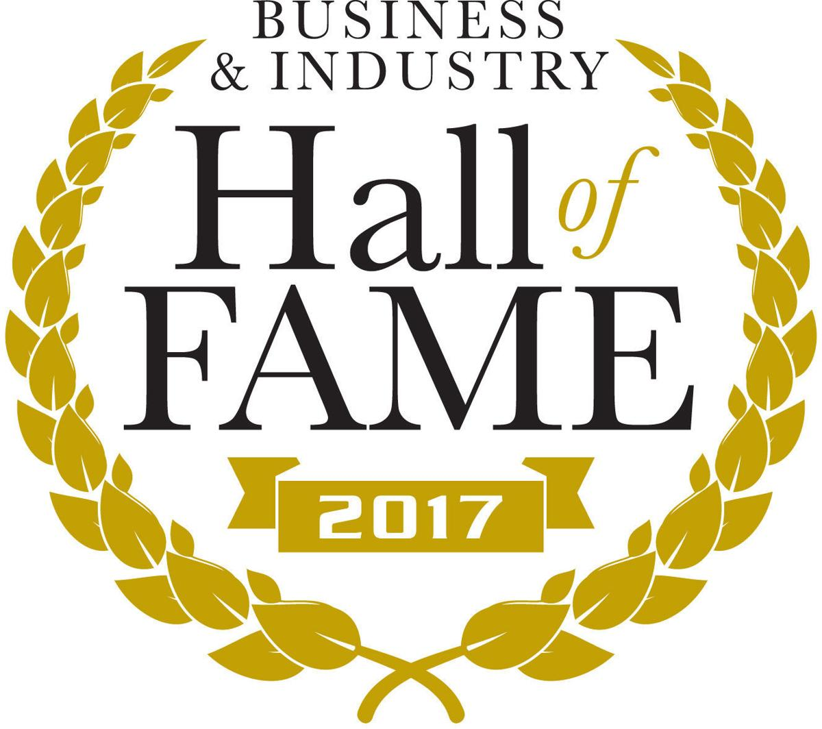 2017 Business & Industry Hall of Fame logo