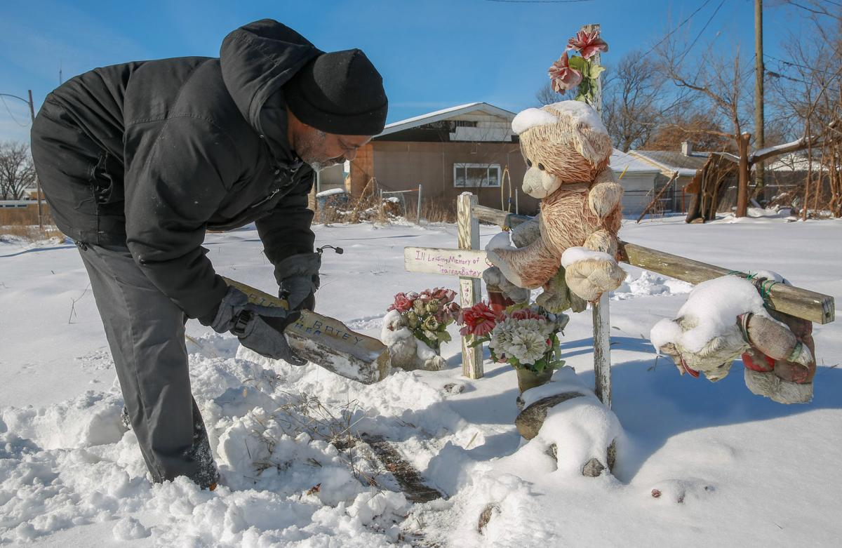 Marvin Clinton memorial for his late fiancé Teaira Batey