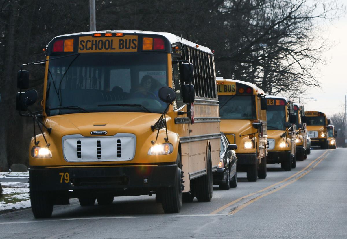 School Bus stock