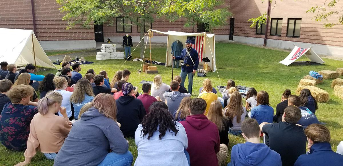 Civil War lessons hit home in living history presentation