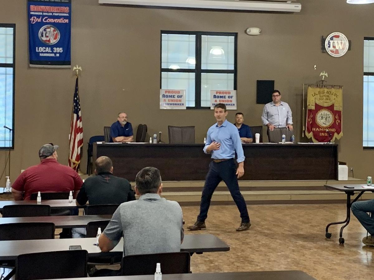 Mrvan wins endorsement of Region's union building trades workers