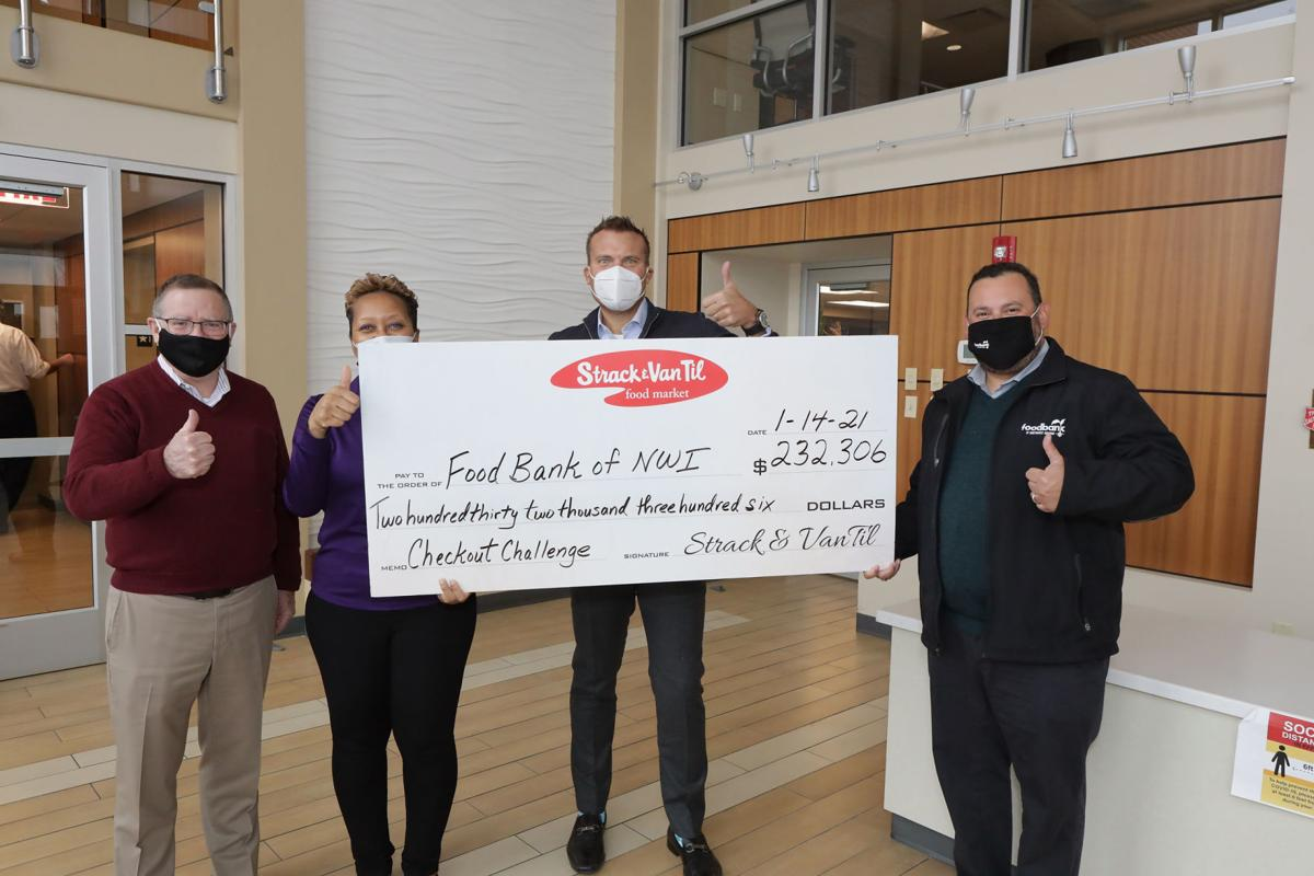 Strack & Van Til Checkout Challege to feed needy with 667,000 meals