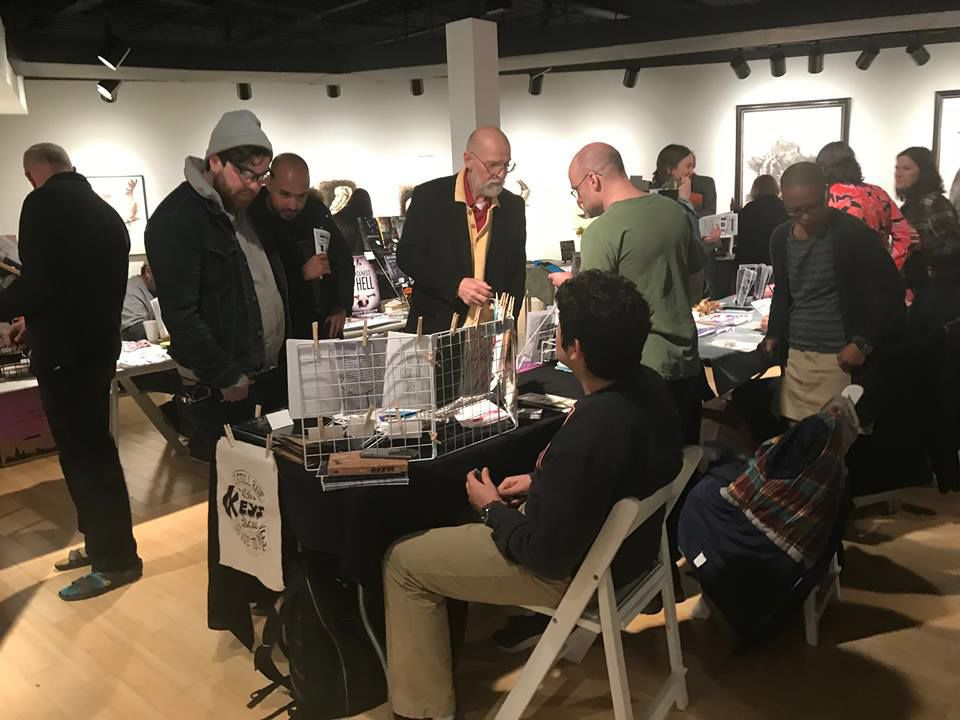 Lubeznik's annual Zine Fest draws hundreds, including from Chicago, Indy and beyond