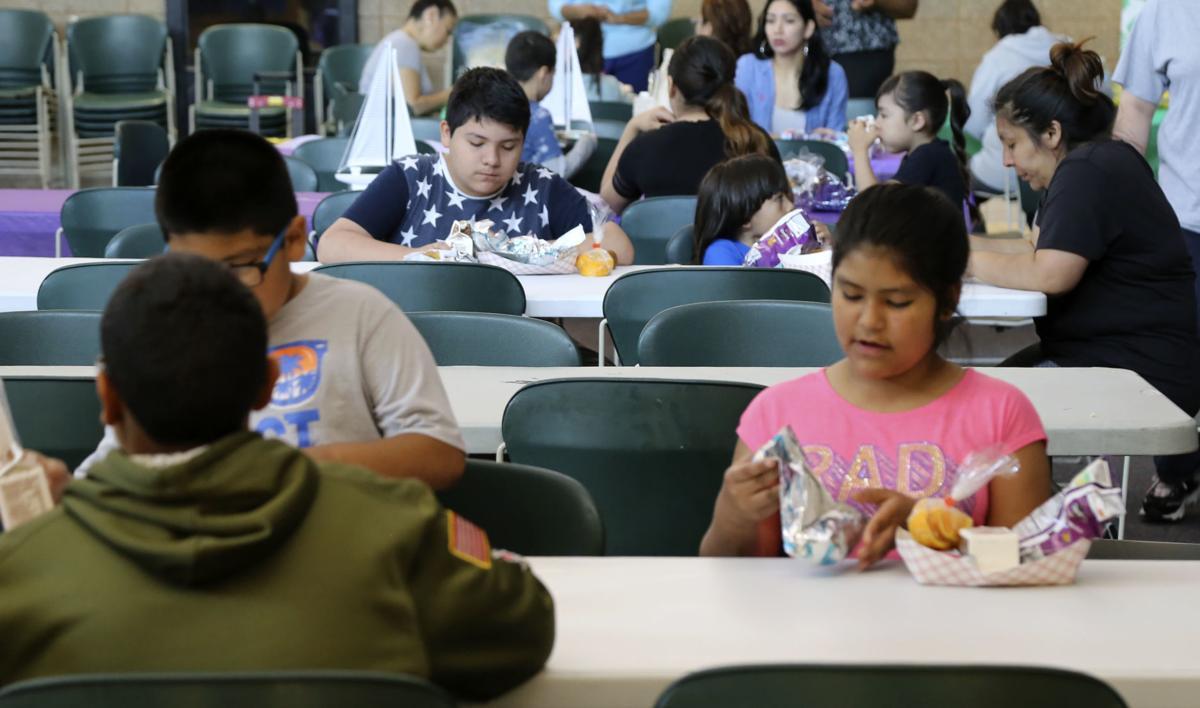 Irving Elementary summer lunch program