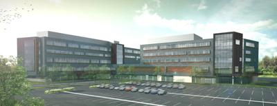 Artist's rendering of Franciscan St Anthony Health