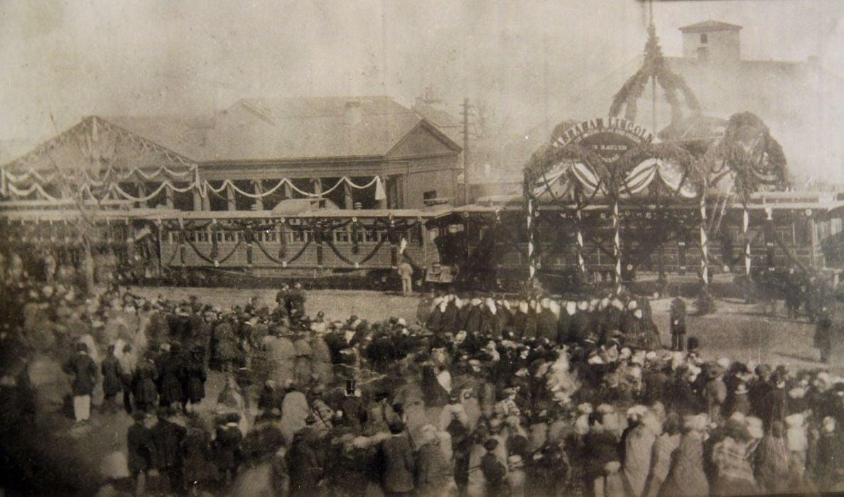 Lincoln Funeral Train in Michigan City
