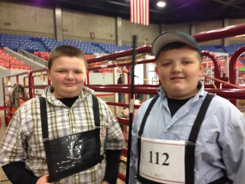 Local kids get involved in the harvest season with 4-H