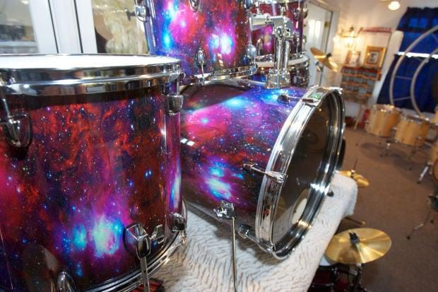 Custom Drum Builder Steve Crabtree rocks on
