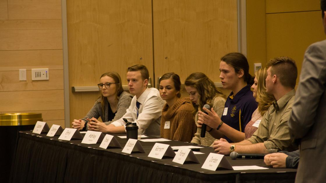 Officials students convene at pnw to discuss future for Jobs in laporte co