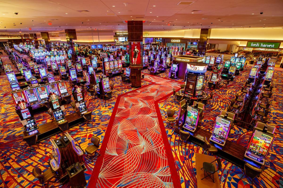 Hard Rock Casino gaming floor