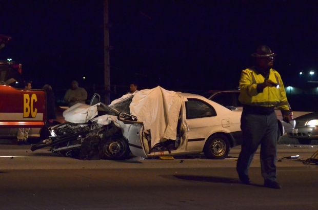 Hammond man killed in Saturday night crash on I-80/94