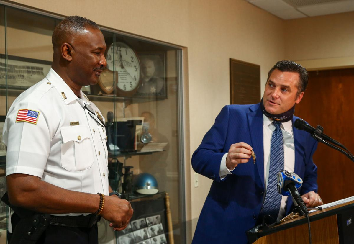 """William """"Andy"""" Short is new Hammond Police Chief"""