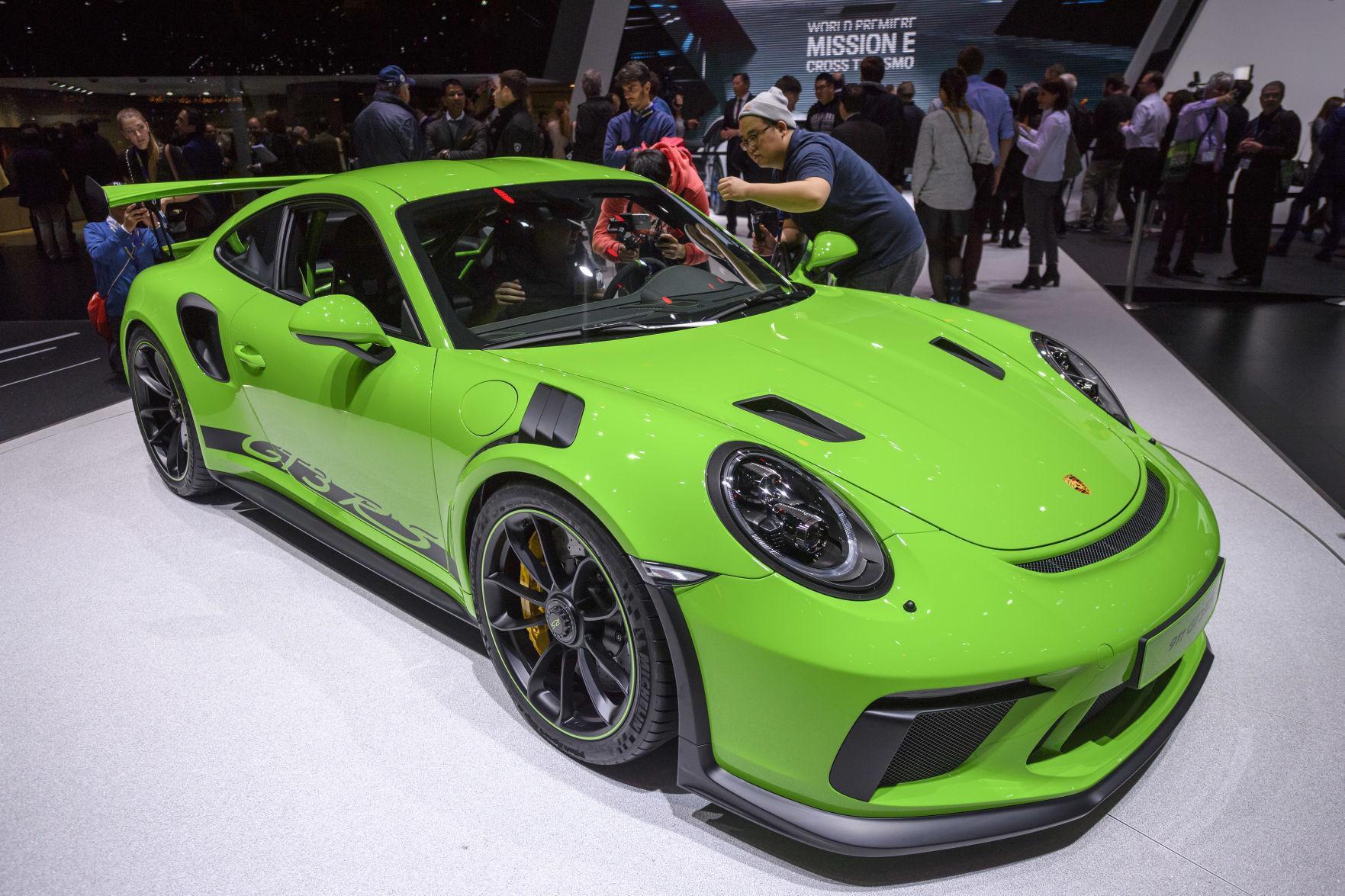 Nice High End Sports Cars Gleam At Geneva Auto Show. Bring Money
