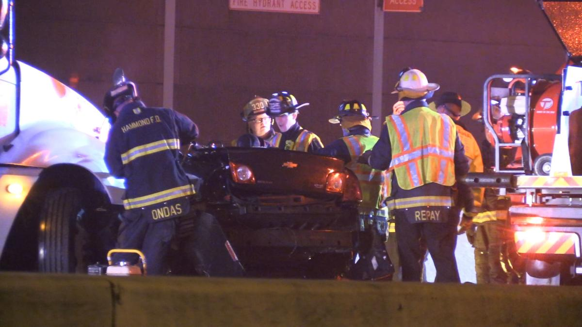 1 dead in overnight crash on I-94; high water remains a problem