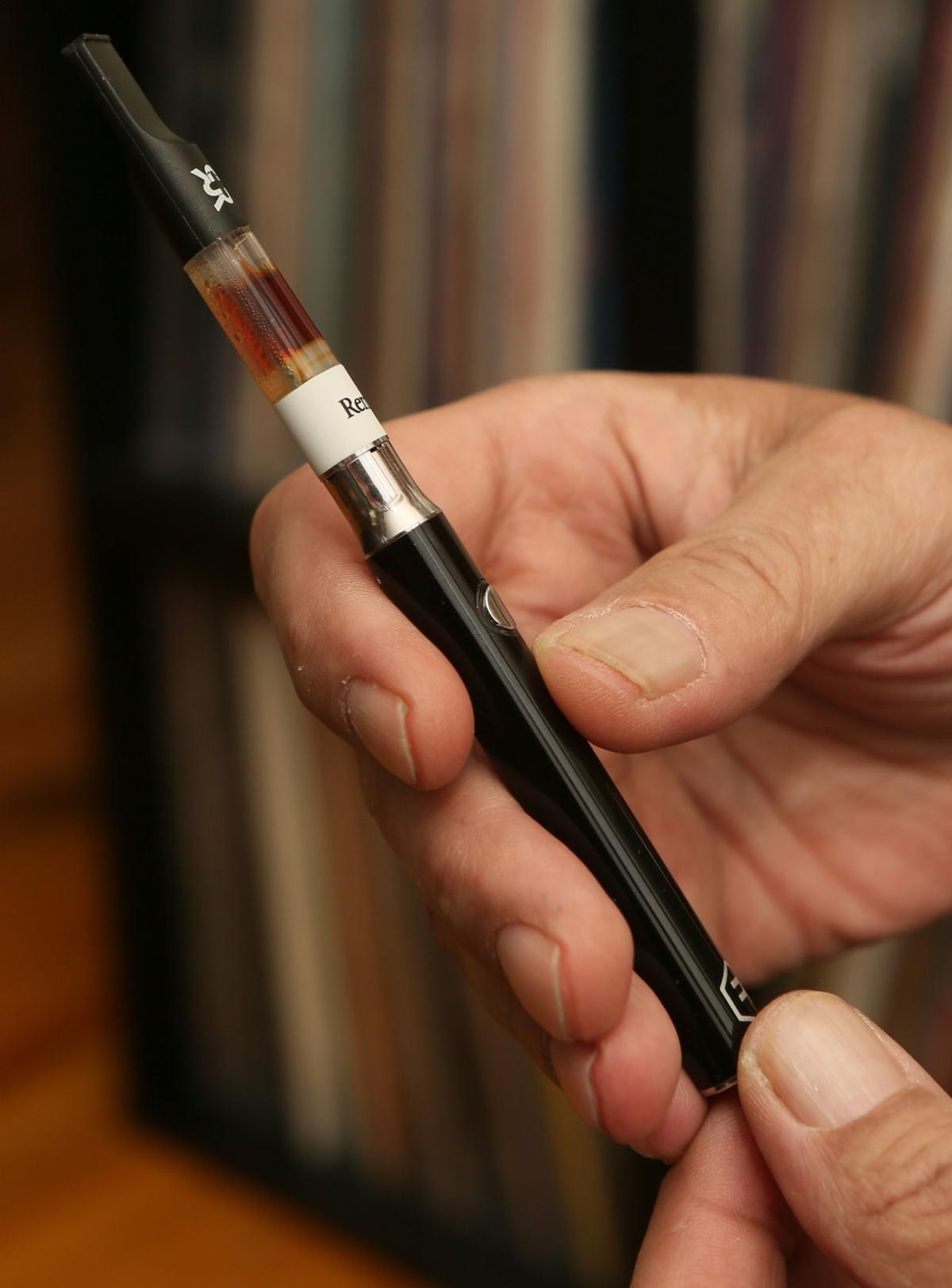 Paul Melvan uses medical marijuana to treat his chronic pain.