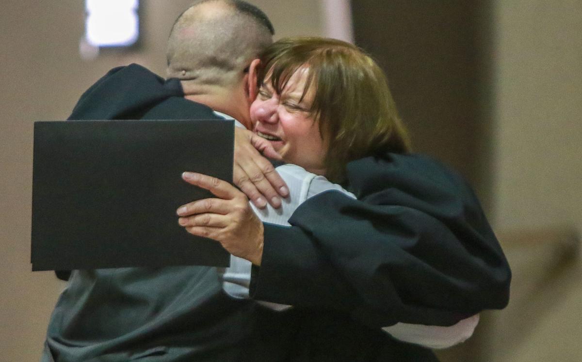 Porter County veterans court graduation