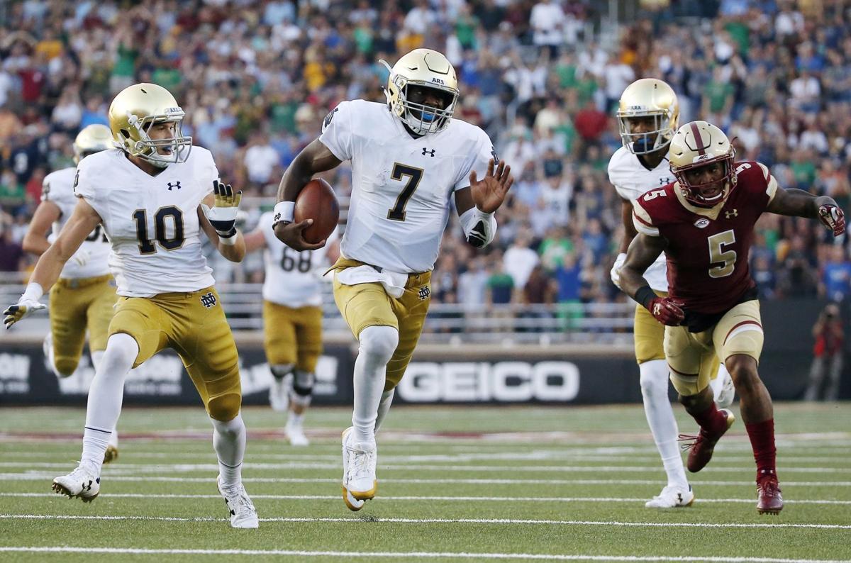 Notre Dame Boston College Football