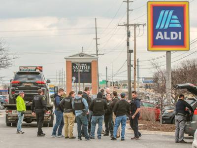 Authorities make arrest at Merrillville Aldi