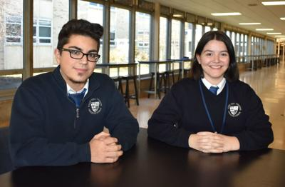 Two Bishop Noll seniors selected to receive full scholarships to nation's top colleges