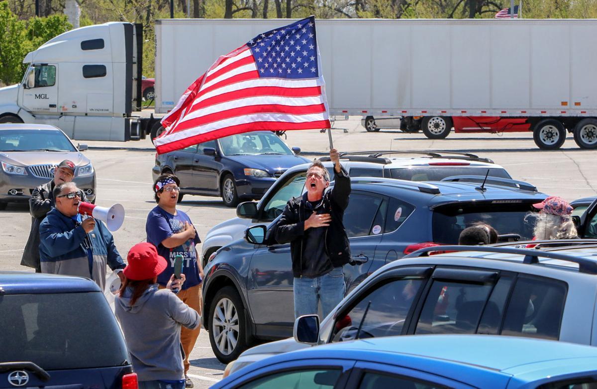 Trump supporters protest Hammond mayor