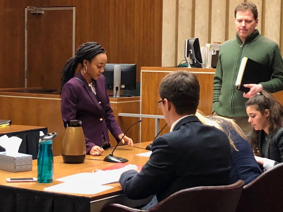 Merrillville Mock trial students 2