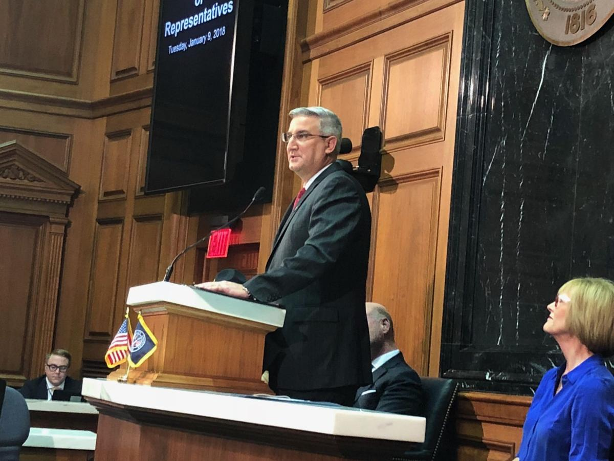 Holcomb names workforce development 'defining issue of the decade' in annual State of the State address