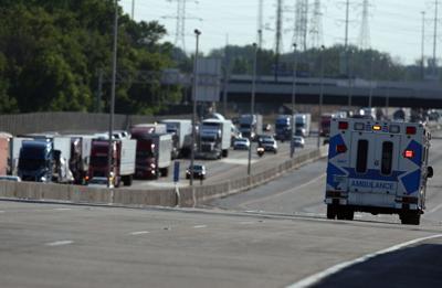 Hammond man driving wrong direction on I-355 caused crash