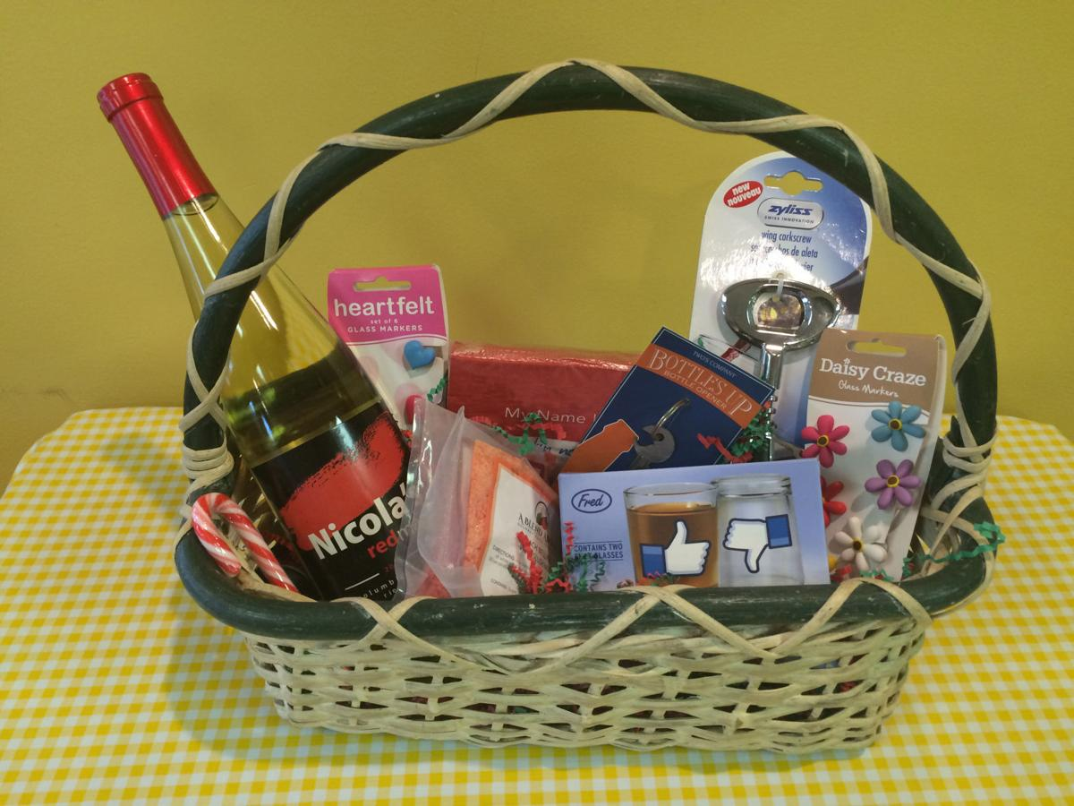 Have fun with creative gift baskets this holiday season