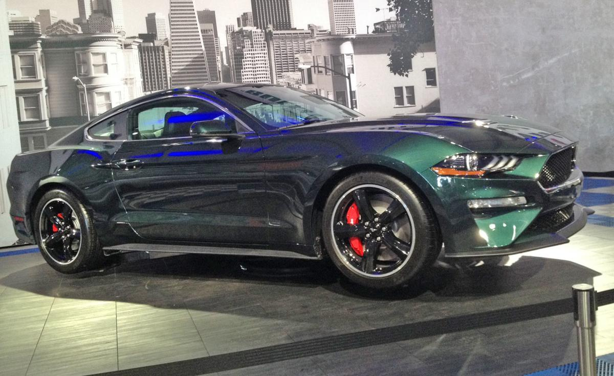 Ford Chases Legendary Mustang Cars