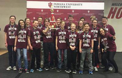Science Olympiad team heads to state
