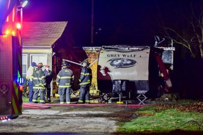 Fire under investigation in Merrillville